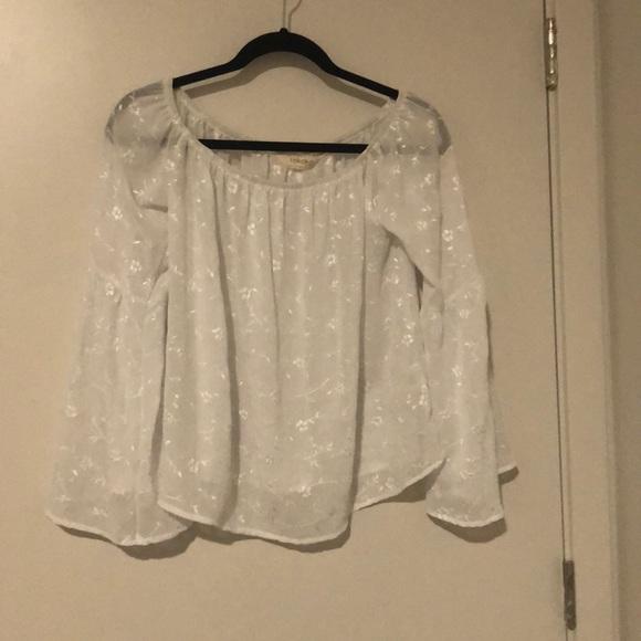 rokoko Tops - White Blouse